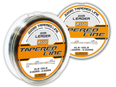 ASSO TAPARED SHOCK LEADER 220MT MULTICOLOR