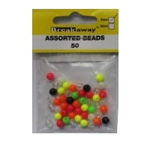 BREAKAWAY 5MM BEADS 50PZ PALLINE SALVANODO 50 pz COLORI ASSORTITI
