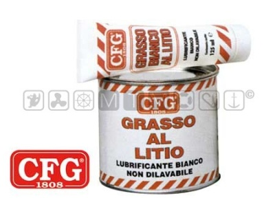 CFG WHITE GRASSO BIANCO AL LITIO TUBETTO 125 ML