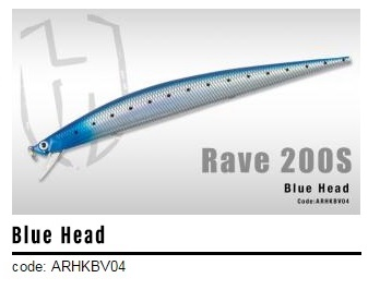 HERAKLES RAVE 200S 42 GR BLUE HEAD