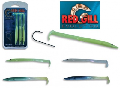 RED GILL RASCAL ORIGINALE MADE IN UK 115 MM BLISTER 3 PZ